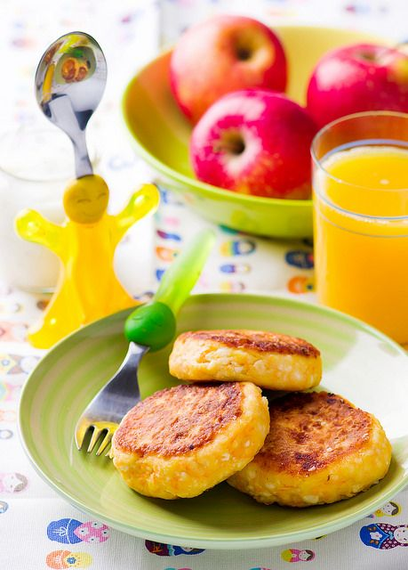 cottage cheese pancakes with carrot