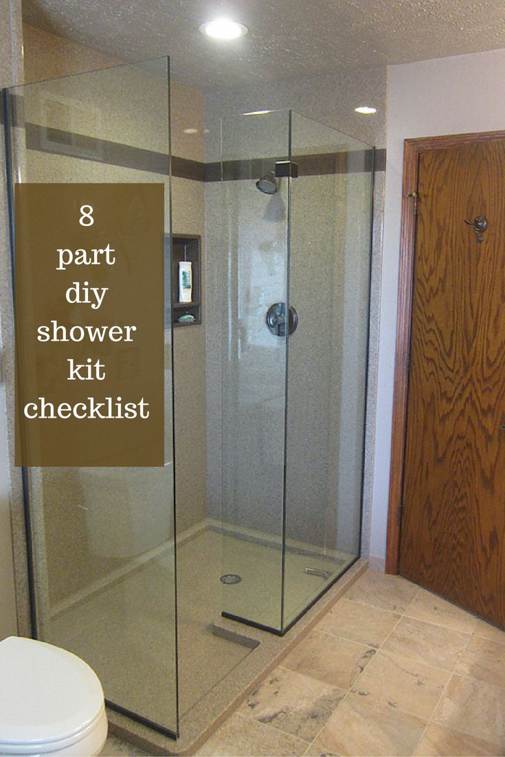 How to make shower pan - A Proven 8 Part Diy Shower Kit Checklist Saves Time And Money