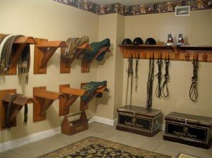 Need Ideas For Saddle Racks. I Like These.