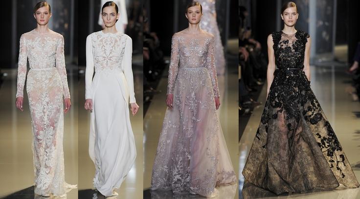Elie Saab - Paris Haute Couture Spring Summer 2013