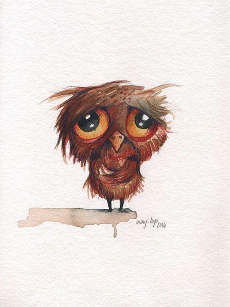 Картинки для, рисунок совы прикольные