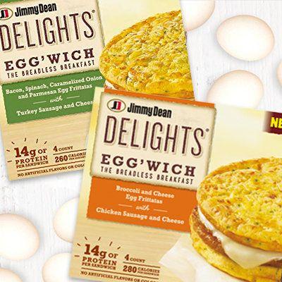 Jimmy Dean Delights Egg Wich Jimmy Dean Turkey Sausage Food