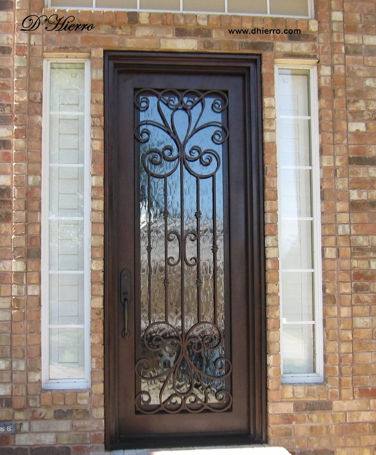 ID 306-104 Single Iron Door