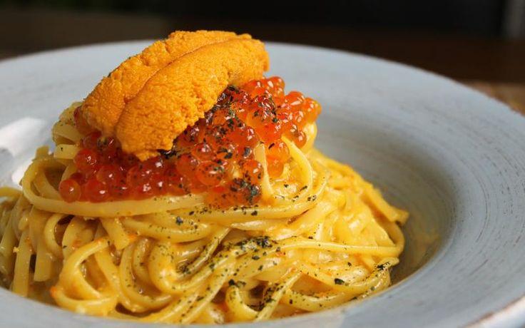 Sea Urchin Pasta with Uni Miso Butter   eatfish.ca