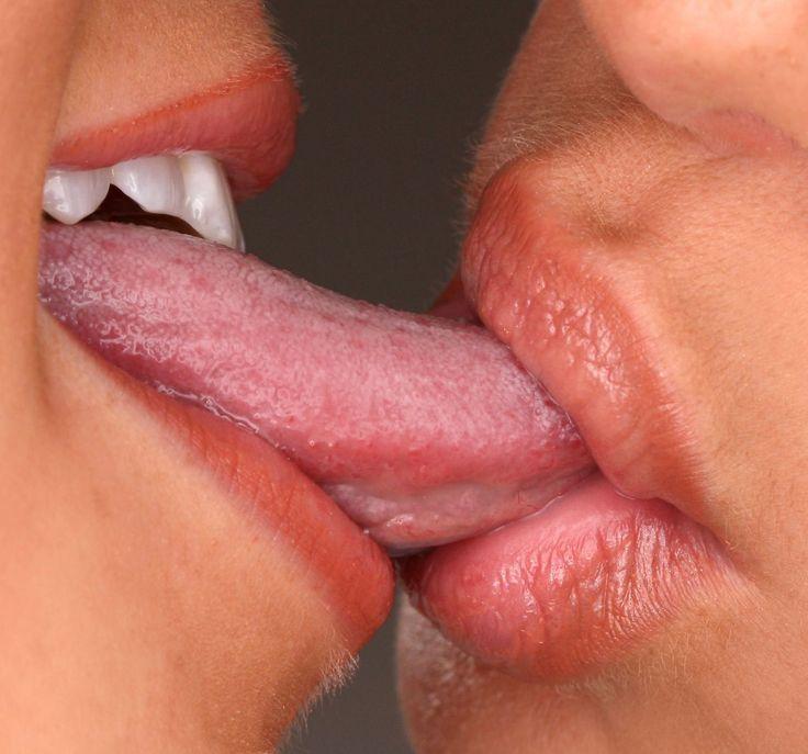 Long Tongue Kissing Sex Porn Gifs