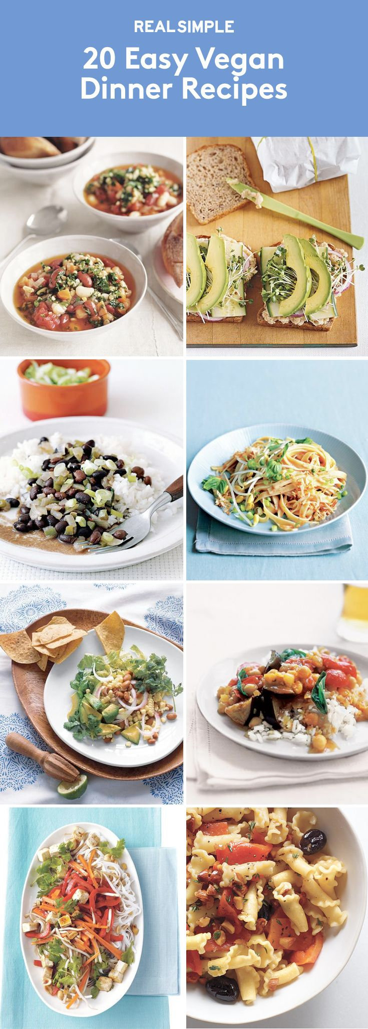127 best images about vegetarian meals on pinterest easy for Easy entree recipes dinner party