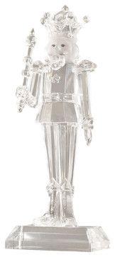 Acrylic King Figurine