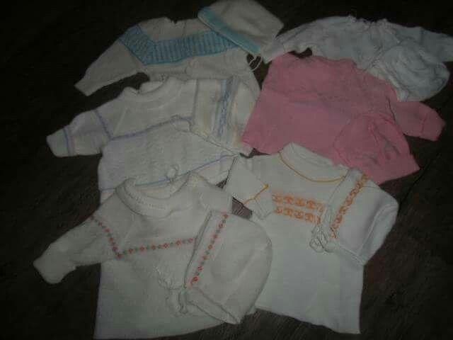 acrylové svetříky pro miminka