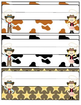 """Cowboy Western Theme Back to School Pack - Saddle up for a great school year! This 88 page file will help you with all aspects of starting your school year. It includes printable Cowboy/Cowgirl themed decorations, an open house scavenger hunt and activities, tons of first week activities, first week parent communication, multiple """"get to know you"""" activities, and much, much more! $"""