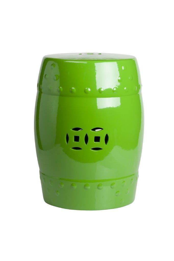 Это предмет мебели, который сочетает в себе сразу две функции – его можно использовать и как стол, и как табурет, в зависимости от вашего желания. Примечательно, что эта модель выполнена не из дерева, как следовало бы ожидать, а из грубой керамики. Столик-табурет выполнен в ярко-зеленом цвете. Он украшен декоративными деталями и резьбой. Такой столик-табурет будет уместен в интерьере с элементами стиля поп-арт.             Метки: Табуреты для кухни.              Материал: Керамика…