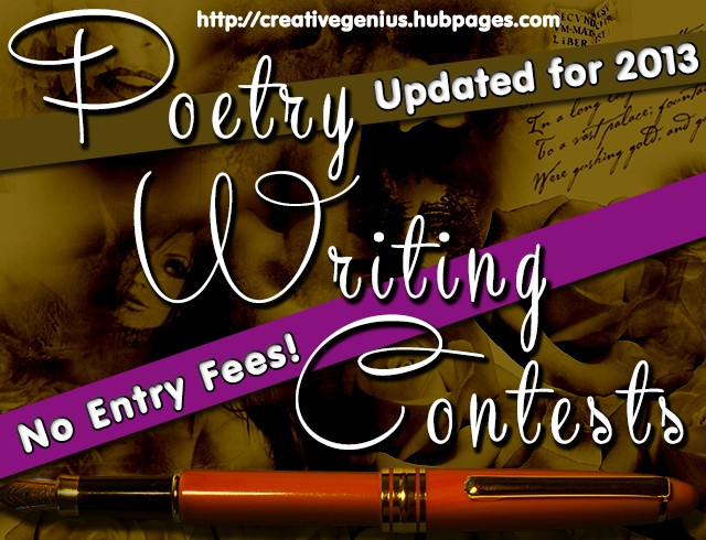 Creative writing contests free poetry contests, fiction