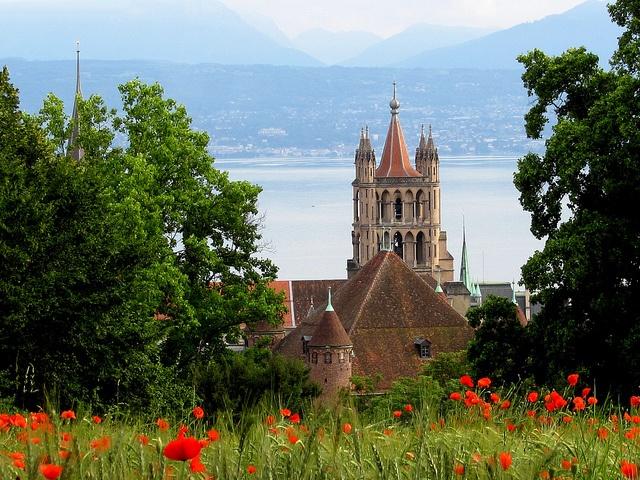 Lausanne Switzerland City View Holverson, via Flickr.