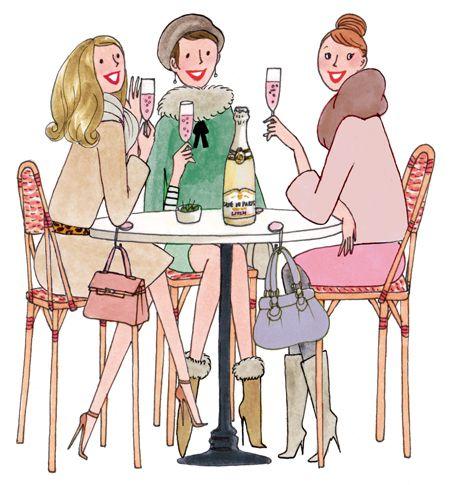 Cheers Girls !