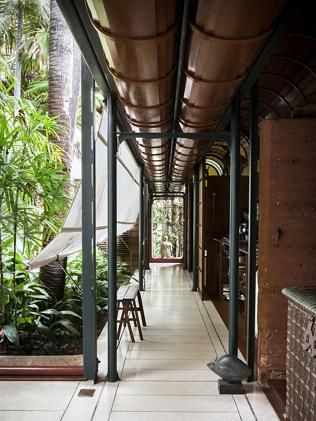 The Palm House, architect Richard Leplastrier. Picture: Michael Wee, sydneylivingmuseums.