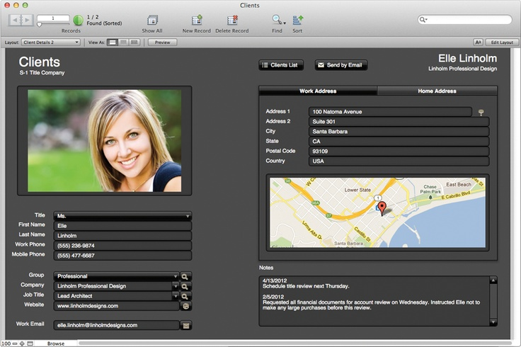 filemaker pro...for lesson plans