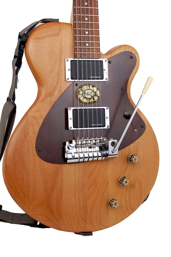 """Electric Guitar - Modified Instrument  """"Father Of Pearl"""" music gear. $950,00, via Etsy."""