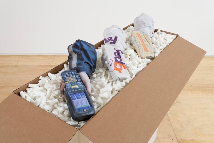 Part of Packing-for-Peantus installation by Josh Kline