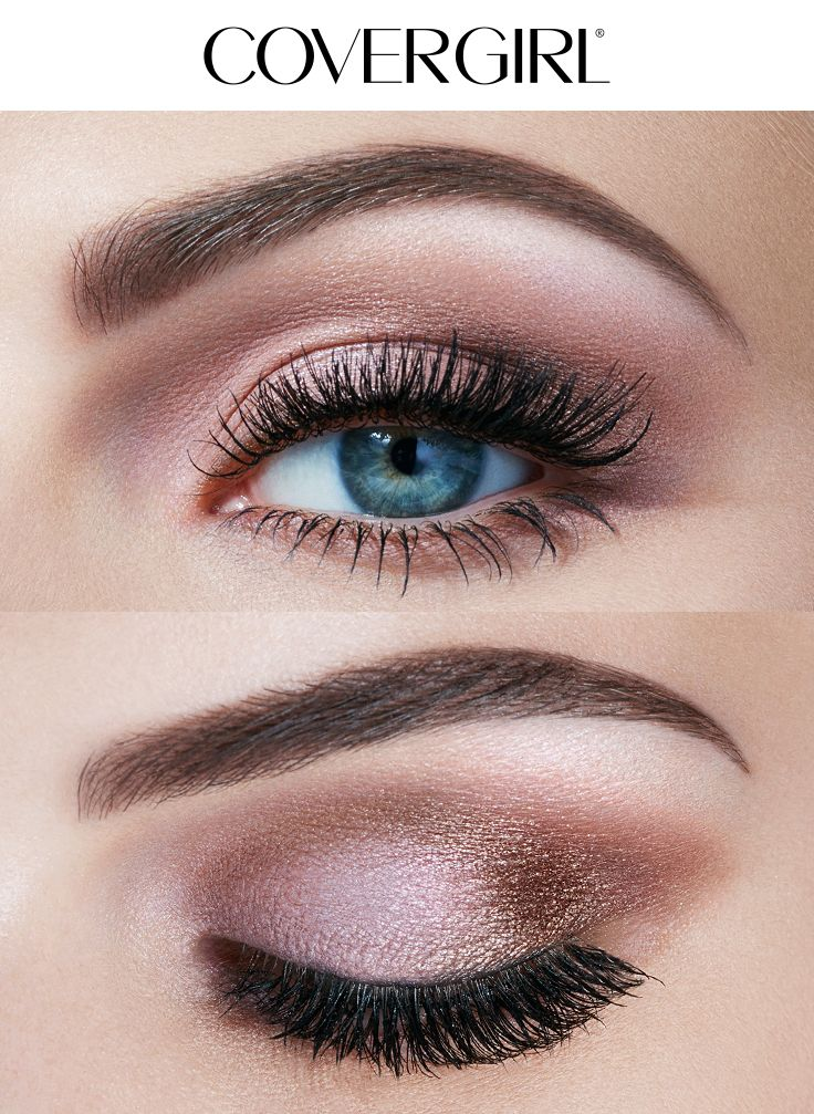 Eyeshadow For Brown Eyes: Create A Soft Natural Eye Look Using COVERGIRL'S TruNaked