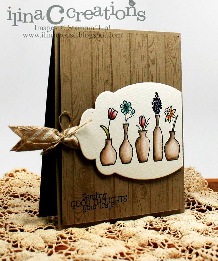 My Creations: Hardwood vases