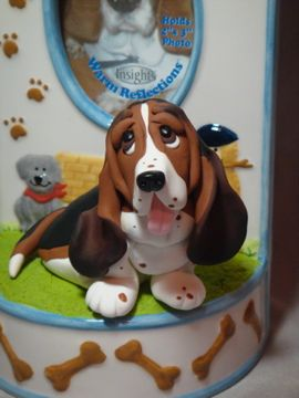 Basset Hound   Only a person who loves bassets will like this cake.