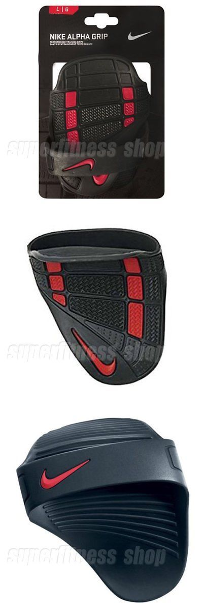 Gloves Straps and Hooks 179820: Nike Alpha Training Grip Gloves Weight Hand Grip Size L, Black X Red -> BUY IT NOW ONLY: $32.5 on eBay!
