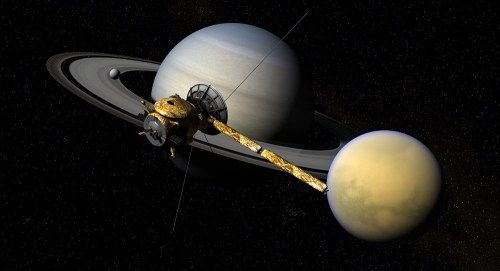 NASA's Cassini spacecraft is at the end of its fuel reserves