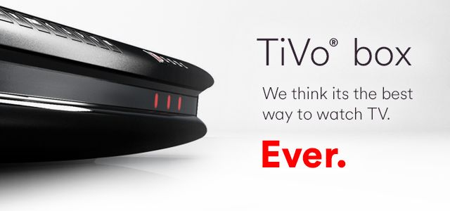 This is what tivo looks like
