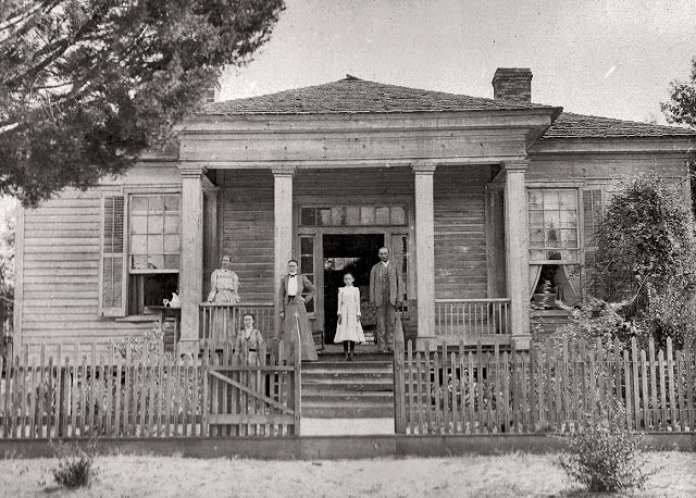 Unknown greek revival house circa 1840 somewhere in the for Home builders in south alabama
