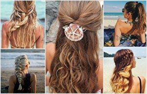 Hairstyles Semi-open hair flower braid braiding hairstyles #braid #braiding #flower #frisuren #hairs
