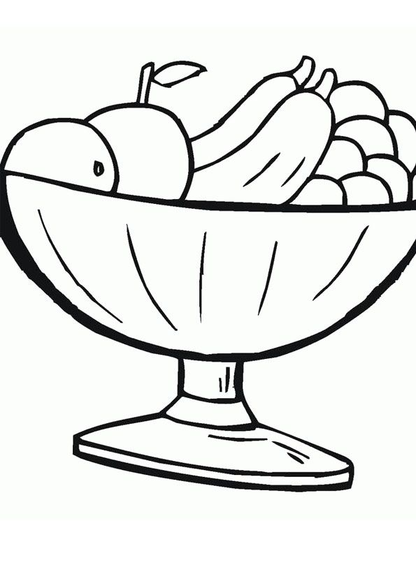 Healthy Food Snacks Coloring Page In 2020 Food Coloring Pages Healthy Snacks Recipes Coloring Pages