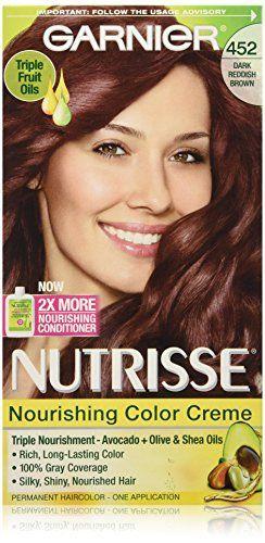 Garnier Nutrisse Nourishing Color Creme 452 Dark Reddish