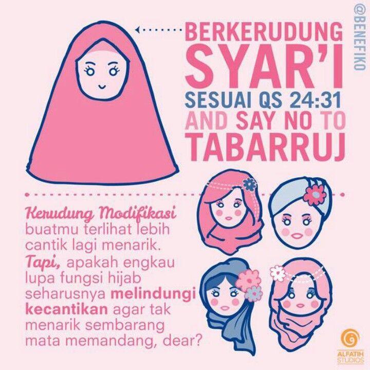 Hijab untuk melindungi keindahan, bukan malah jadi perhiasan