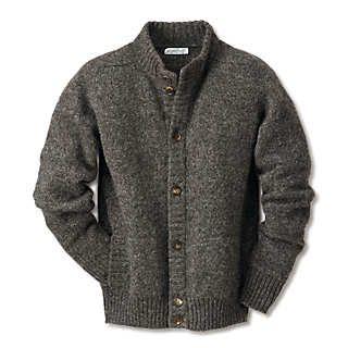 Eribé Herrenstrickjacke Peerie-Wolle | Strickwaren