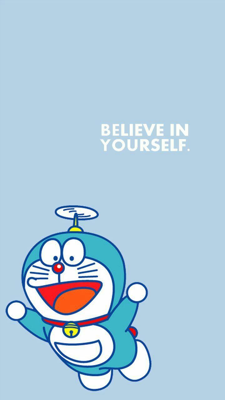Wallpaper Doraemon Biru