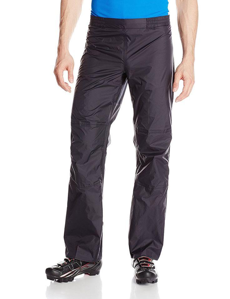 VAUDE Herren Regenhose Drop Pants II: Amazon.de: Sport & Freizeit