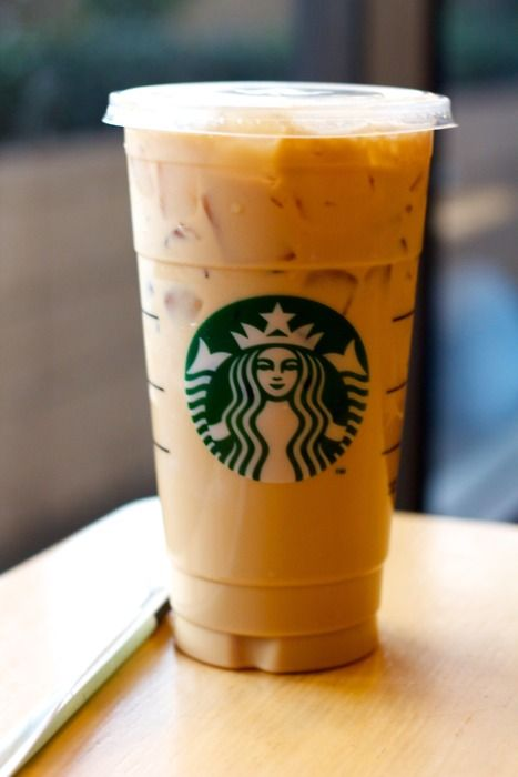 Iced Skinny Hazlenut Latte - the best thing on a hot summer afternoon.