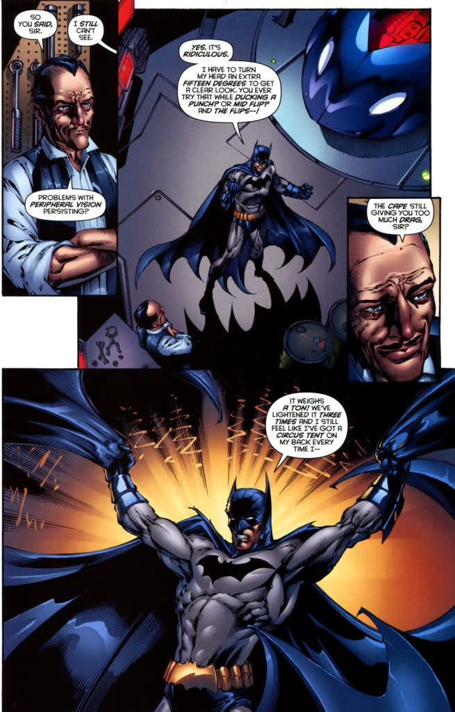 "Dick Grayson and Alfred - Batman #688  ""Ballgown of Kevlar"""