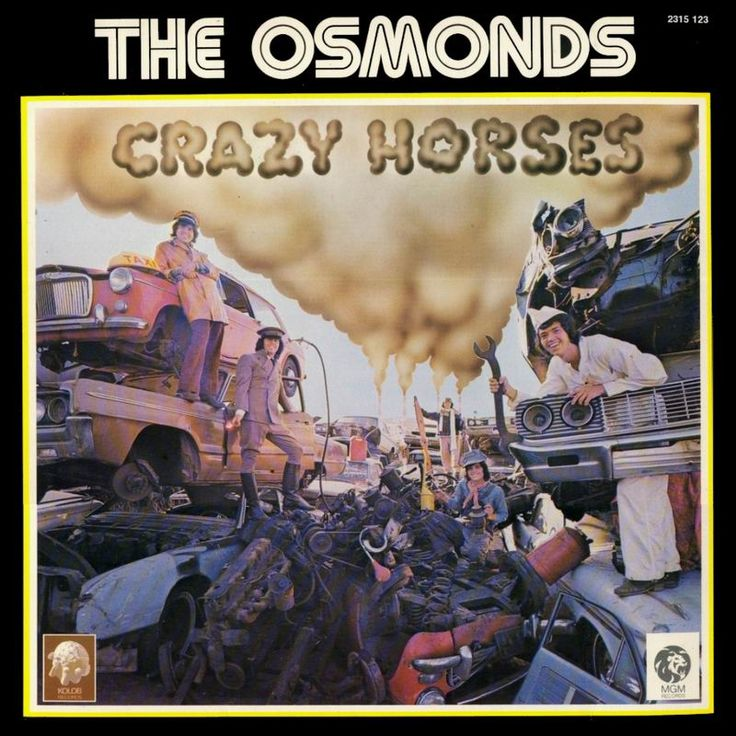 The Osmonds - Crazy Horses