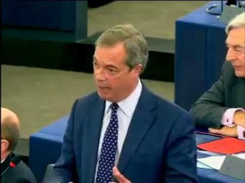 "Nigel Farage: ""This will be the last European Commission that governs Br..."