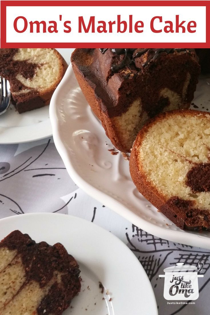 Marble Pound Cake Recipe Made Just Like Oma