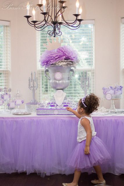"Photo 1 of 22: Princess / Birthday ""Paloma's Purple Princess Party"" 