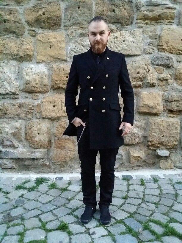 #beard #ootd #fall #street #style