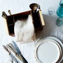 Flatware and Napkin Holder - Flatware Holder -- Outdoor Dinnerware - The Wooden Palate | Shop Food52 on Food52
