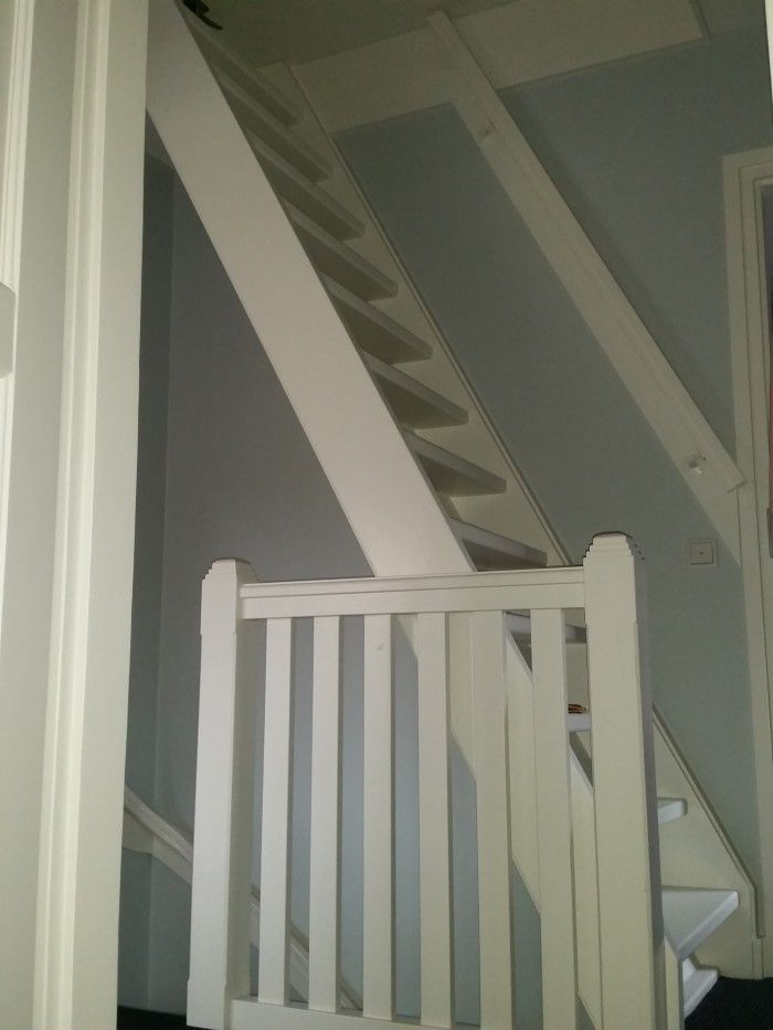 Vaste trap naar bergzolder i p v vlisotrap zoldertrap pinterest attic staircases and - Trap toegang tot zolder ...