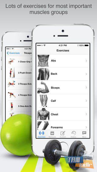 #Fitness+ Pro, #iOS cihazlar üzerinde çalışan spor uygulaması: http://www.tamindir.com/fitness-pro/ios/