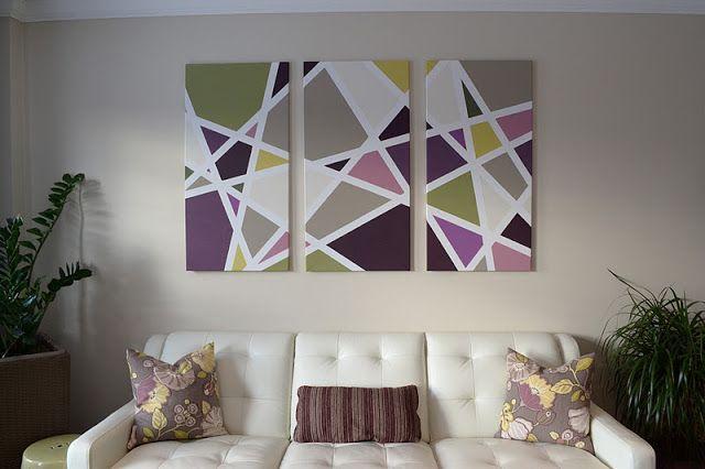 Canadian Home Love: $15 Living Room Art – #Art #ca…