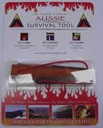 The Firestarter | Survival Packs | Survival Storehouse Pty Limited - signal light and firestarter