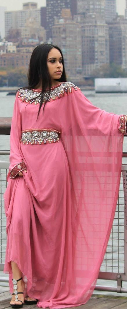 2016 New O-neck Beads Long Sleeve Chiffon Pakistani Dresses Arabi Dubai Muslim Dress Online with $117.81/Piece on Orient2015's Store | DHgate.com