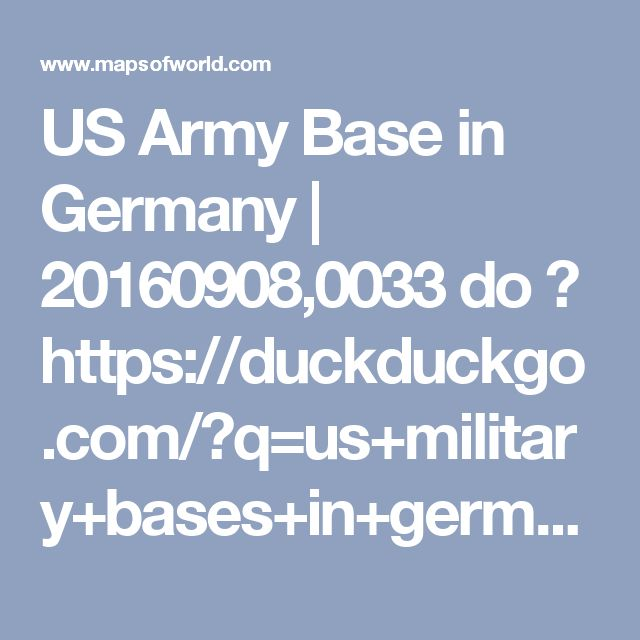 Best Us Army Bases Ideas Only On Pinterest Team Activities - Us military bases germany map