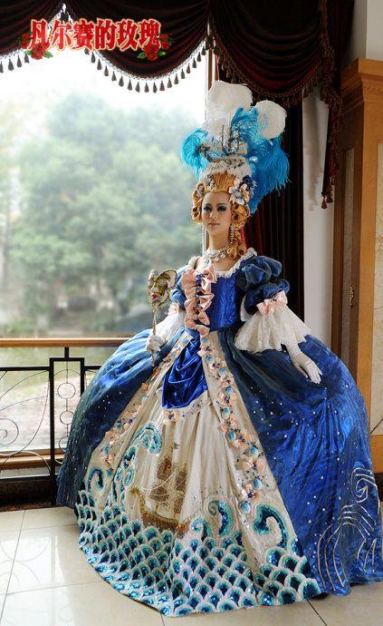 Masquerade Ball: Elaborate Marie Antionette/Rococo Ball ...